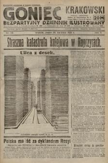 Goniec Krakowski : bezpartyjny dziennik popularny. 1922, nr115