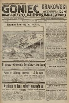 Goniec Krakowski : bezpartyjny dziennik popularny. 1922, nr117