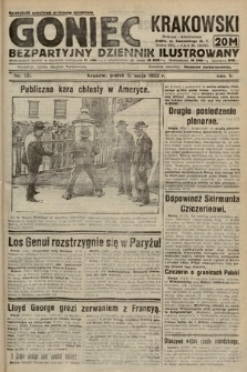 Goniec Krakowski : bezpartyjny dziennik popularny. 1922, nr121