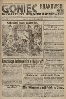 Goniec Krakowski : bezpartyjny dziennik popularny. 1922, nr138