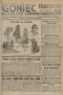 Goniec Krakowski : bezpartyjny dziennik popularny. 1922, nr140