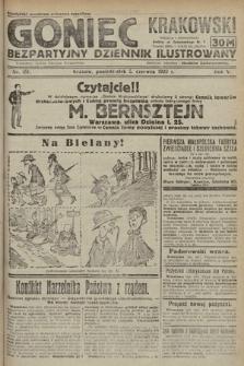 Goniec Krakowski : bezpartyjny dziennik popularny. 1922, nr151