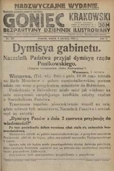 Goniec Krakowski : bezpartyjny dziennik popularny. 1922, nr151 (nadzwyczajne wydanie)