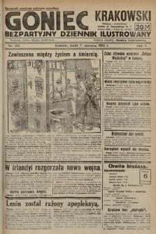 Goniec Krakowski : bezpartyjny dziennik popularny. 1922, nr152