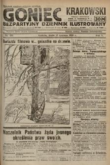 Goniec Krakowski : bezpartyjny dziennik popularny. 1922, nr159