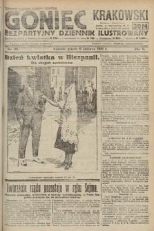 Goniec Krakowski : bezpartyjny dziennik popularny. 1922, nr161