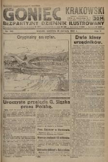 Goniec Krakowski : bezpartyjny dziennik popularny. 1922, nr163