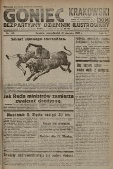 Goniec Krakowski : bezpartyjny dziennik popularny. 1922, nr164