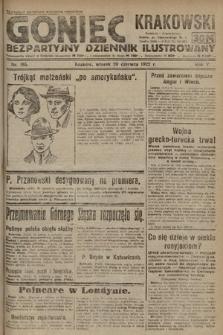 Goniec Krakowski : bezpartyjny dziennik popularny. 1922, nr165