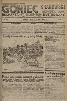 Goniec Krakowski : bezpartyjny dziennik popularny. 1922, nr166