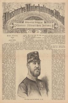 Illustrirtes Unterhaltungs-Blatt : Wöchentliche Beilage zur Thorner Ostdeutschen Zeitung. 1889, № 18 ([5 Mai])