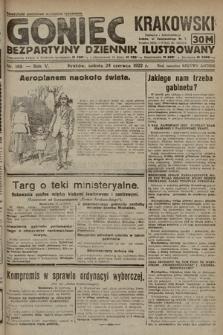 Goniec Krakowski : bezpartyjny dziennik popularny. 1922, nr169