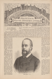 Illustrirtes Unterhaltungs-Blatt : Wöchentliche Beilage zur Thorner Ostdeutschen Zeitung. 1893, № 9 ([5 März])
