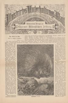 Illustrirtes Unterhaltungs-Blatt : Wöchentliche Beilage zur Thorner Ostdeutschen Zeitung. 1893, № 14 ([9 April])