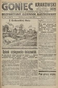 Goniec Krakowski : bezpartyjny dziennik popularny. 1922, nr180