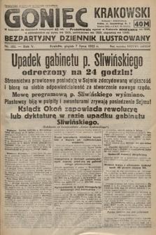 Goniec Krakowski : bezpartyjny dziennik popularny. 1922, nr182