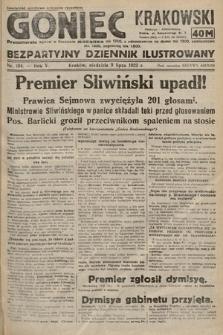 Goniec Krakowski : bezpartyjny dziennik popularny. 1922, nr184