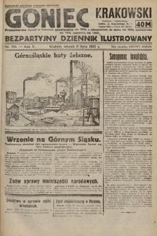 Goniec Krakowski : bezpartyjny dziennik popularny. 1922, nr186