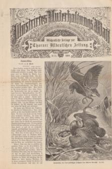 Illustrirtes Unterhaltungs-Blatt : Wöchentliche Beilage zur Thorner Ostdeutschen Zeitung. 1899, № 41 ([8 Oktober])