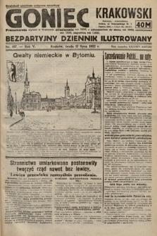 Goniec Krakowski : bezpartyjny dziennik popularny. 1922, nr187