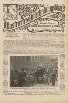 Illustriertes Unterhaltungsblatt : Wöchentliche Beilage zur Thorner Ostdeutschen Zeitung. 1901, № 5 ([27 Januar])