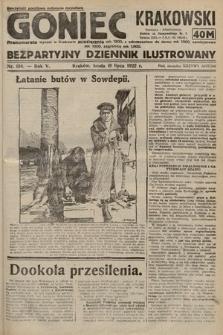 Goniec Krakowski : bezpartyjny dziennik popularny. 1922, nr194