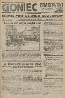 Goniec Krakowski : bezpartyjny dziennik popularny. 1922, nr201