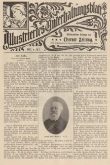 Illustriertes Unterhaltungsblatt : Wöchentliche Beilage zur Thorner Zeitung. 1907, № 7 ([17 Februar])