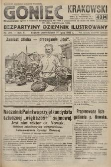 Goniec Krakowski : bezpartyjny dziennik popularny. 1922, nr206