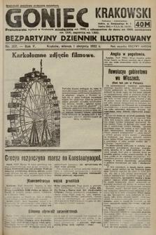 Goniec Krakowski : bezpartyjny dziennik popularny. 1922, nr207