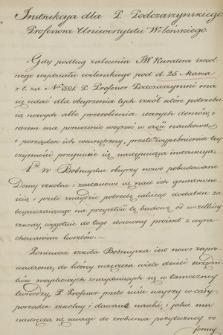 Materiały dotyczące wizytacji szkół w guberni wileńskiej w 1825 r.