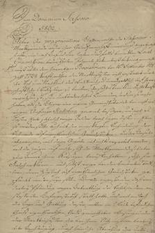 Różne drobne papiery dominium sasowskiego w powiecie złoczowskim, własności Starzeńskich, z lat 1803-1853