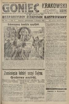 Goniec Krakowski : bezpartyjny dziennik popularny. 1922, nr213