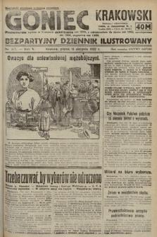 Goniec Krakowski : bezpartyjny dziennik popularny. 1922, nr217