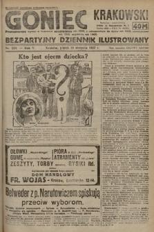 Goniec Krakowski : bezpartyjny dziennik popularny. 1922, nr224