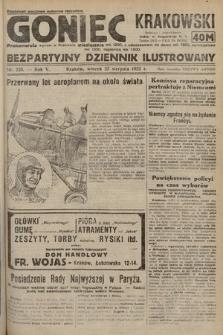 Goniec Krakowski : bezpartyjny dziennik popularny. 1922, nr228