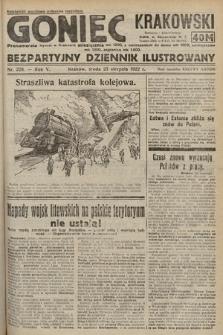 Goniec Krakowski : bezpartyjny dziennik popularny. 1922, nr229