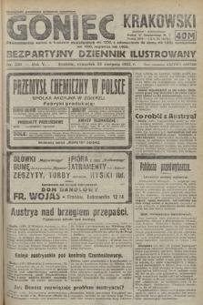 Goniec Krakowski : bezpartyjny dziennik popularny. 1922, nr230