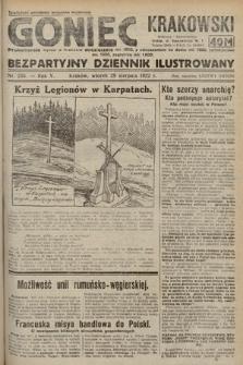 Goniec Krakowski : bezpartyjny dziennik popularny. 1922, nr235