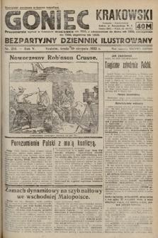Goniec Krakowski : bezpartyjny dziennik popularny. 1922, nr236