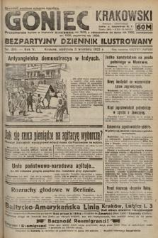 Goniec Krakowski : bezpartyjny dziennik popularny. 1922, nr240