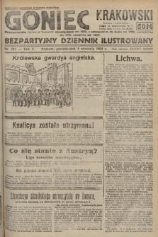 Goniec Krakowski : bezpartyjny dziennik popularny. 1922, nr241