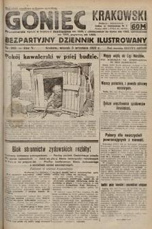 Goniec Krakowski : bezpartyjny dziennik popularny. 1922, nr242