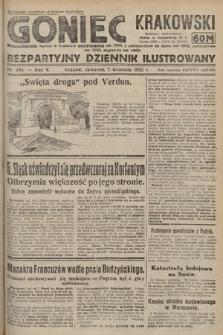 Goniec Krakowski : bezpartyjny dziennik popularny. 1922, nr244
