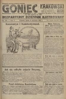 Goniec Krakowski : bezpartyjny dziennik popularny. 1922, nr250