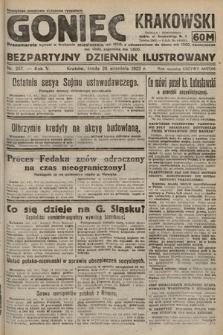 Goniec Krakowski : bezpartyjny dziennik popularny. 1922, nr257