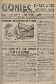 Goniec Krakowski : bezpartyjny dziennik popularny. 1922, nr259