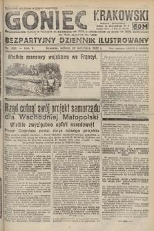 Goniec Krakowski : bezpartyjny dziennik popularny. 1922, nr260