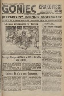 Goniec Krakowski : bezpartyjny dziennik popularny. 1922, nr270
