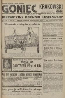 Goniec Krakowski : bezpartyjny dziennik popularny. 1922, nr273